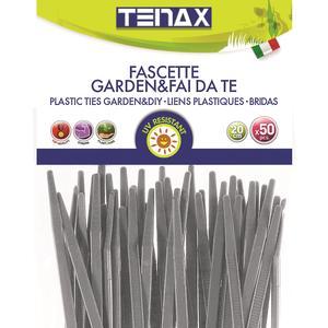 Fix-Tie grigie Fascette di fissaggio anti UV