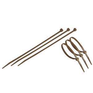 Fix-Tie marroni Fascette di fissaggio anti UV