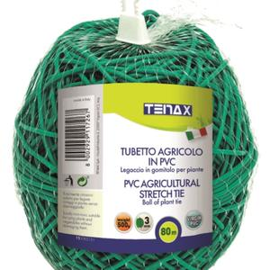 Flexible green PVC tube To stretch your plants