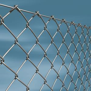 Galvanized chain link The traditional mesh