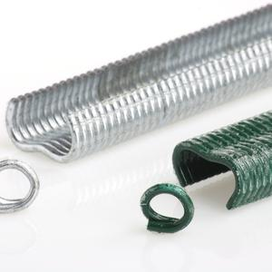 Galvanized hog rings For B22M Hog Ring Gun