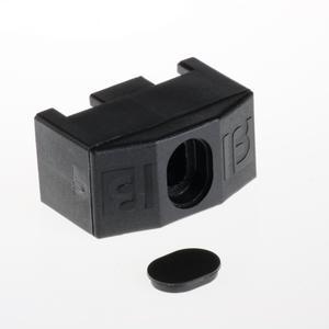 Giunto di fissaggio nero Per recinzione Nylofor 3D 2M
