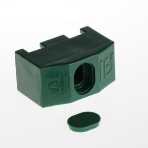 Giunto di fissaggio verde Per recinzione Nylofor 3D 2M