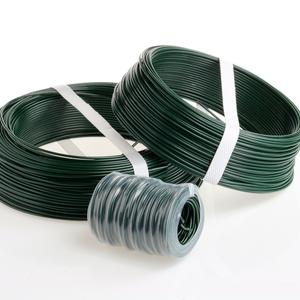 Green PVC coated tying wire  Ø 1.8 The best for securing fencing