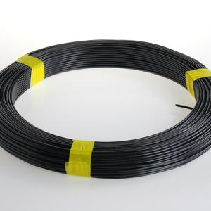 Grey PVC coated tension wire  Ø 2.8 Elegant and strong