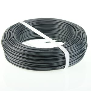 Grey PVC coated tension wire  Ø 3.2 Elegant and strong