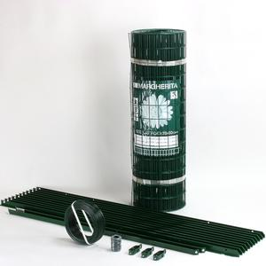Ground mounted electro-welded mesh fence kit Cheaper and easier