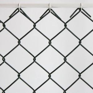 Heavy duty chain link mesh Ø 3.2 The chain link mesh for sports facilities
