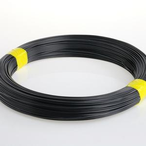 Iron grey PVC coated tying wire Ø 1.5 mm For a trendy fencing