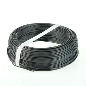 Iron grey PVC coated tying wire Ø 1.8 mm For a trendy fencing