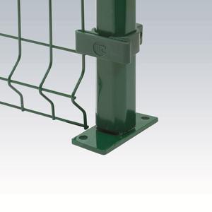 Kit di fissaggio nero Per recinzione Panoplax