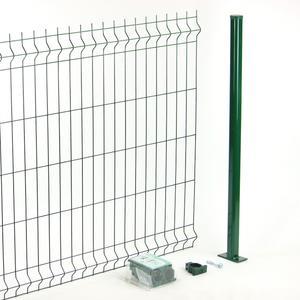 Kit recinzione a pannelli Panoprò verde Il modo per recintare con i pannelli, più facile ed economico