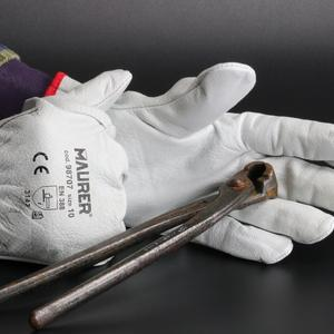 Leather Gloves For heavy works