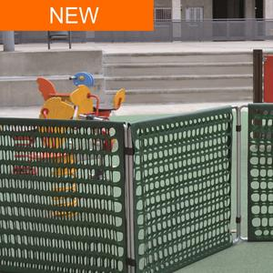 Limit garden Removable modular puppy fencing