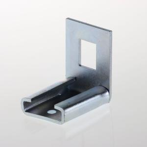Line adapter bracket For electro forge-welded grating
