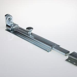 Lockable barrel bolt For small gates