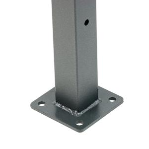 Panopro 2000 grey post with plate For cavatorta Panopro 2000 fencing