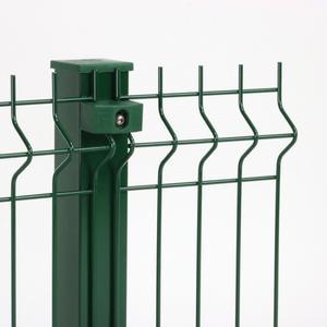 Pannello Nylofor 3D 2M verde Il pannello da recinzione di alta qualità