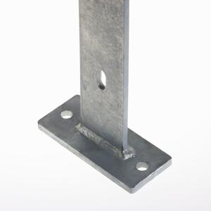 Post For electro forge-welded grating