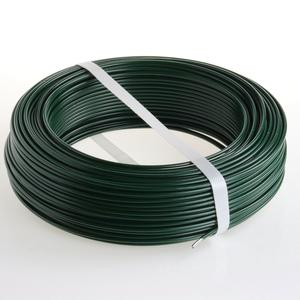 Green PVC coated  tension wire Ø 3.2 The most frequently used