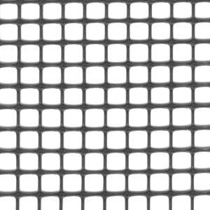 Quadra 10 antracite Rete in plastica multiuso