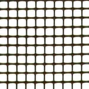 Quadra 10 marrone Rete in plastica multiuso