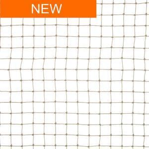Rete anti uccelli 19x19 colore sabbia La rete in polietilene per volatili di piccola taglia