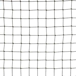Rete anti uccelli 28x28 colore nera La rete in polietilene per volatili di media taglia