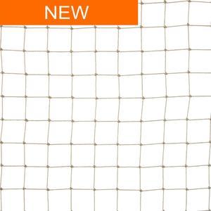 Rete anti uccelli 28x28 colore sabbia La rete in polietilene per volatili di media taglia