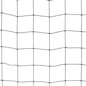 Rete anti uccelli 50x50 colore nera La rete in polietilene per volatili di grossa taglia