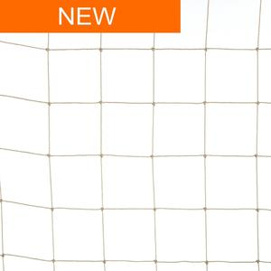 Rete anti uccelli 50x50 colore sabbia La rete in polietilene per volatili di grossa taglia