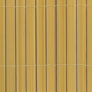 Rio plus beige Double face synthetic reed screening