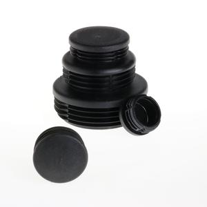 Round caps For pipes