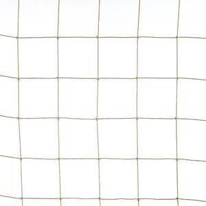 Sand coloured 50x50 anti-bird netting Polythene netting for protection against big birds