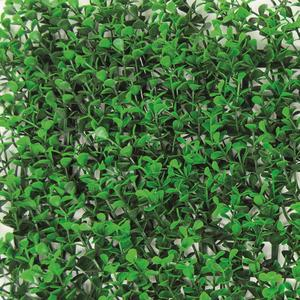 Divy 3D Panel Buxus Intense Synthetic hedge with intense green box leaves in interlocking modules