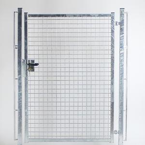 Single wing walkway standard galvanized gate For sport facilities