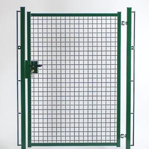 Single wing walkway Standard green gate The robust gate