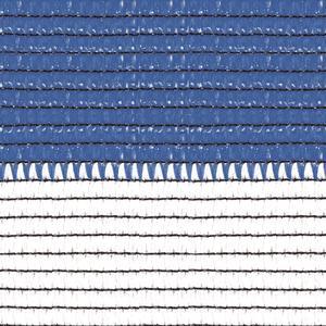 Soleado Sport bianca e azzurra Ombreggiante a strisce