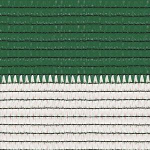 Soleado sport bianca e verde Ombreggiante a strisce