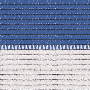 Soleado sport white and blue Stripes screening and shading mesh