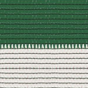 Soleado sport white and green Stripes screening and shading mesh