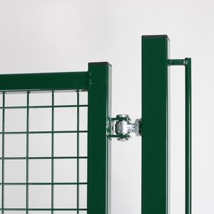 Dual swing driveway Standard green gate The robust gate