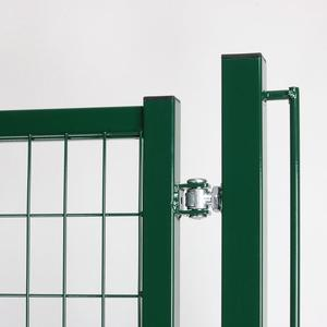 Dual swing driveway Base gate Complete and cost effective