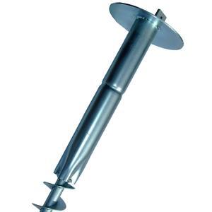 Vortek T 30 I supporti per la posa dei pali a T con sezione a T 30x30 mm