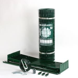 Wall mounted electro-welded mesh fence kit Cheaper and easier