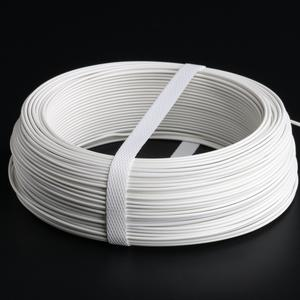 White PVC coated tying wire Ø 1.8 Unusual and elegant