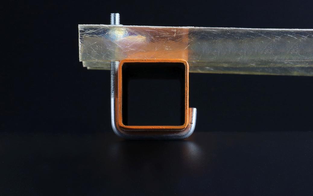 Barretta Filettata Per Fissaggio Su Ferro Delle Coperture