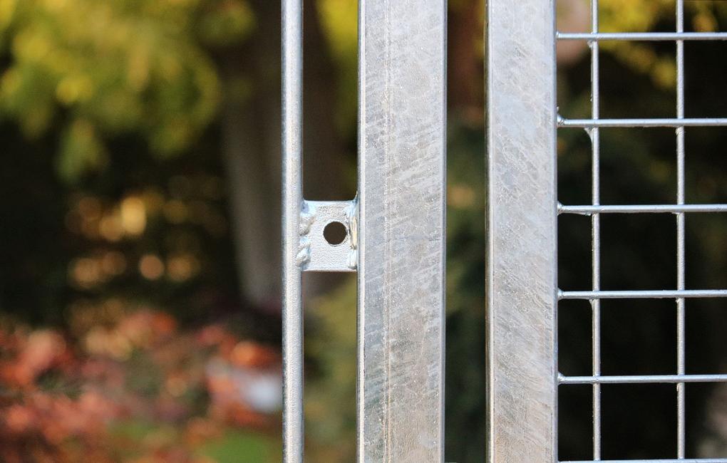 Misure Standard Cancello A Due Ante.Cancello Standard Zincato 2 Ante Il Cancello Per Impianti Sportivi