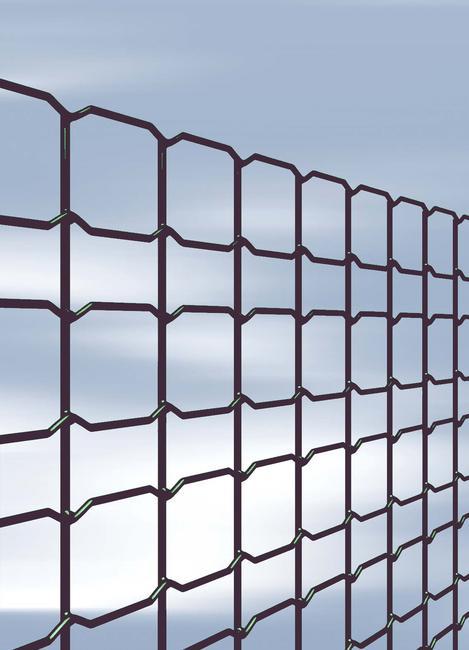 Decoplax évolution anthracite La clôture décorative trendy - Achetez on