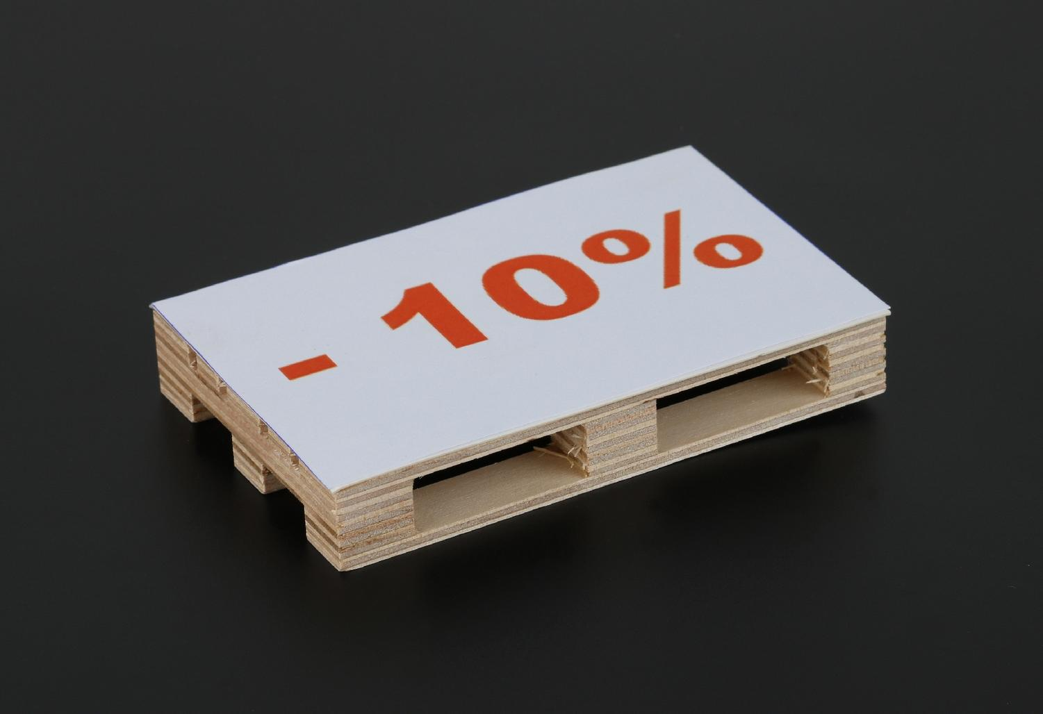 10 % off for orders for all purchase of at least 1.500 €
